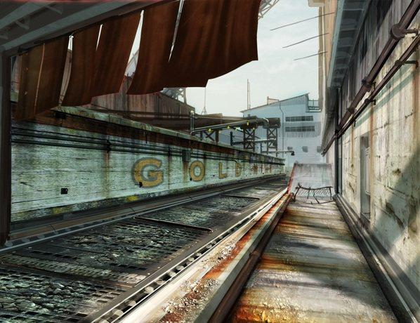 「一觸即發」地圖中有許多通道,兩側的快速輸送帶是獲得勝利的一大利器,玩家可得善加...