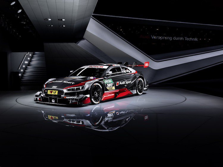 Audi在3月初於日內瓦車展正式發表全新第三代Audi RS 5 DTM賽車,融...