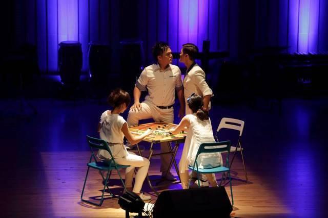 創意和生活化是章瑋倫的音樂創作之必要,就連打麻將也可以入樂。 圖片:punch打...