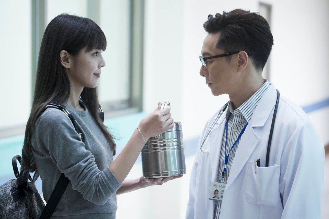 李毓芬和謝祖武在「最完美的女孩」飾演一對父女。圖/海王天璽提供