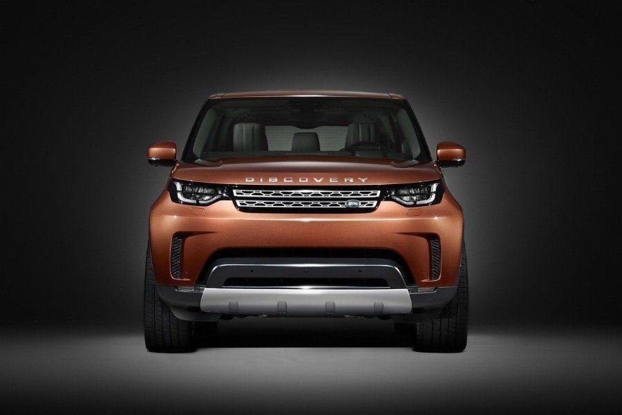 全新2017年式Land Rover Discovery。摘自 Jaguar Land Rover