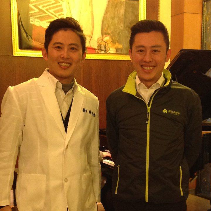 牙醫和新竹市長林智堅宛如兄弟?! 圖片來源/聯合報系