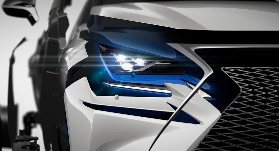 Lexus NX小改款車頭照搶先曝光。 圖/Lexus提供