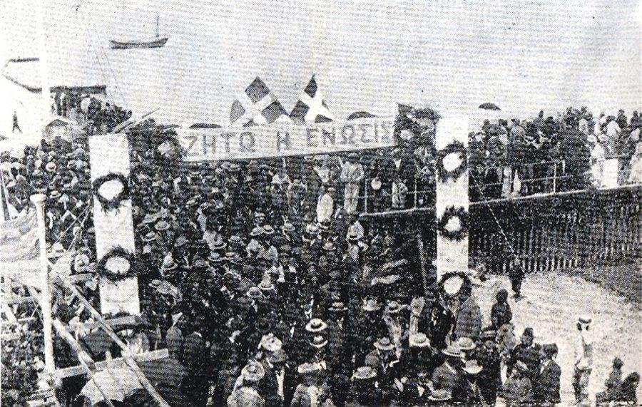 隨著民族主義思潮在世紀初開始在各國蔓延發酵,賽普勒斯亦漸漸吹起了「回歸希臘」(E...