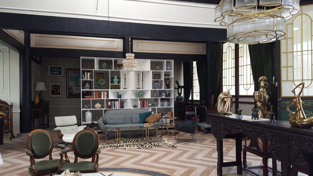 「終極三國」外觀雖是中式傳統建築,但內部是現代裝潢。記者杜沛學/攝影