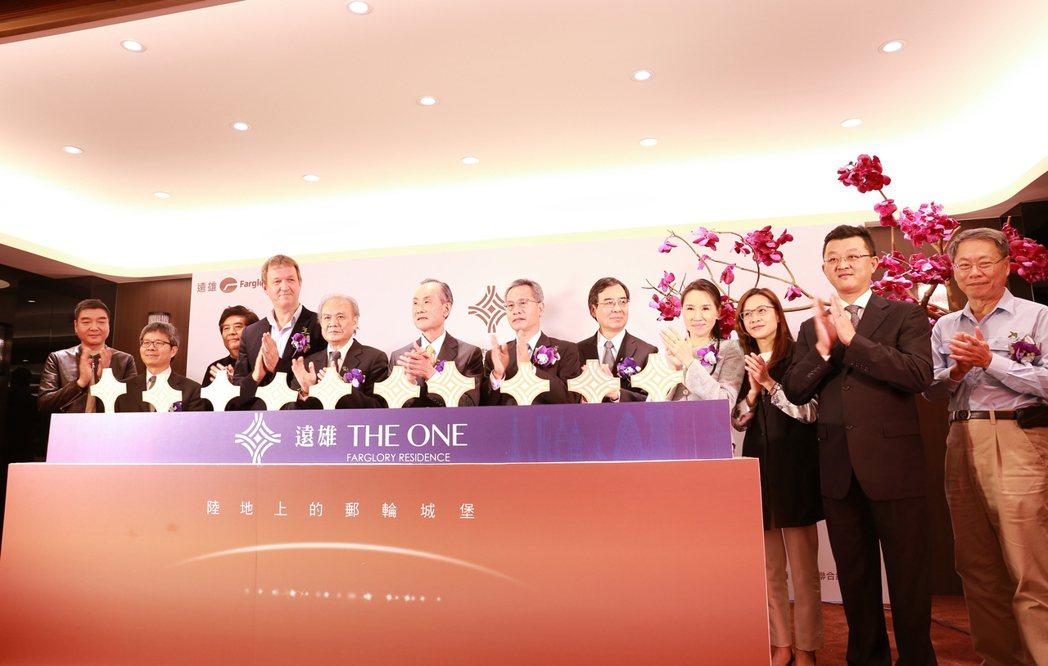「遠雄THE ONE」國際級建築團隊。 攝影/張世雅