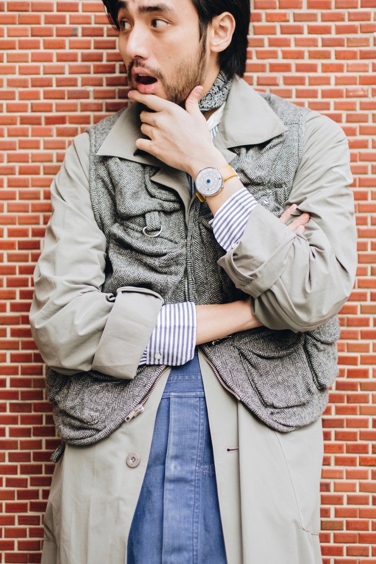 overcoat_wisdom / vest_Engineered Garmen...