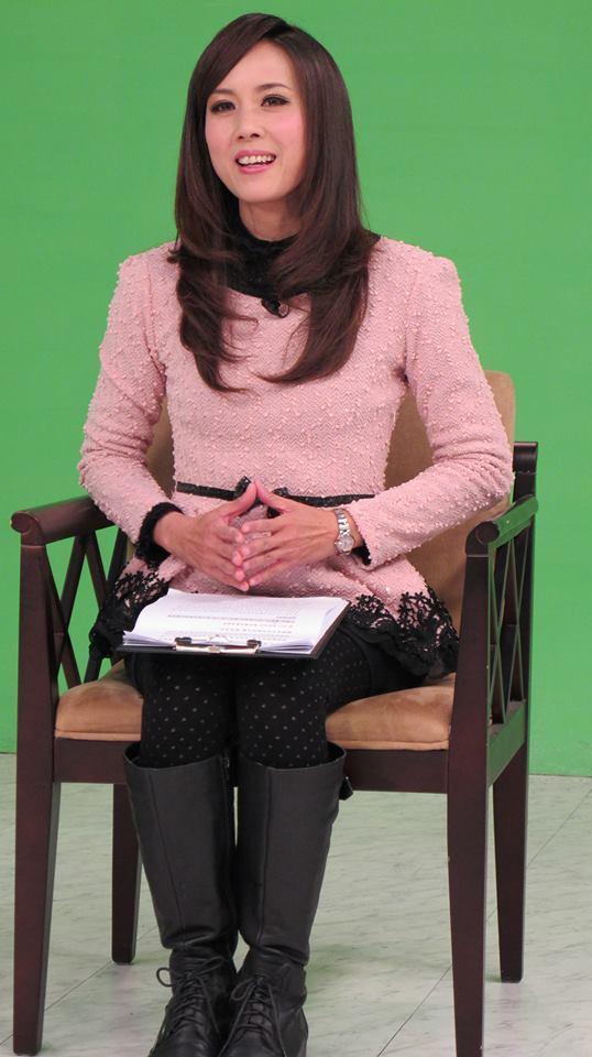 張宜真在縣府期間開設縣政影音新聞節目。圖/縣府提供