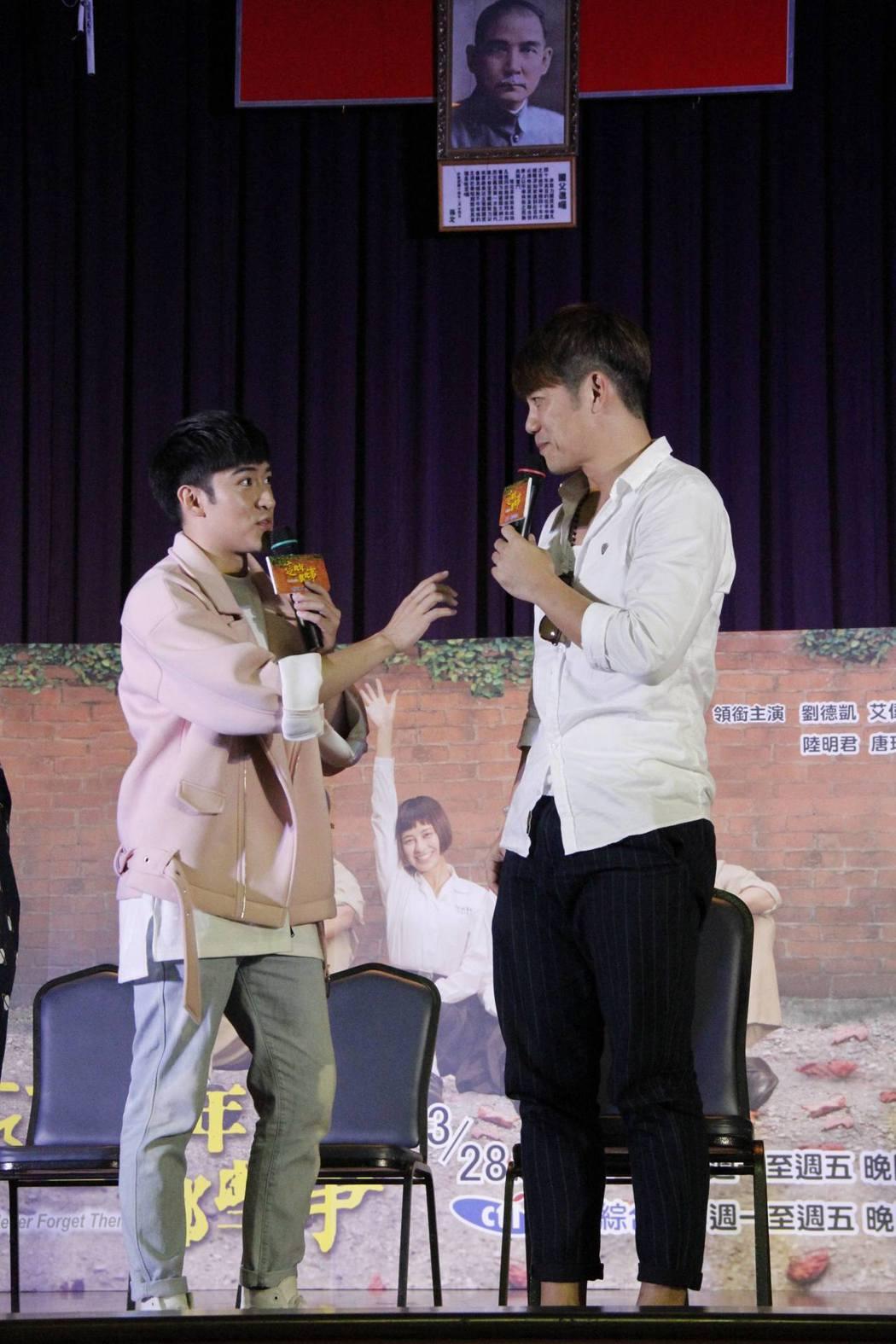 沈建宏(左)和陳志強 。圖/中天提供