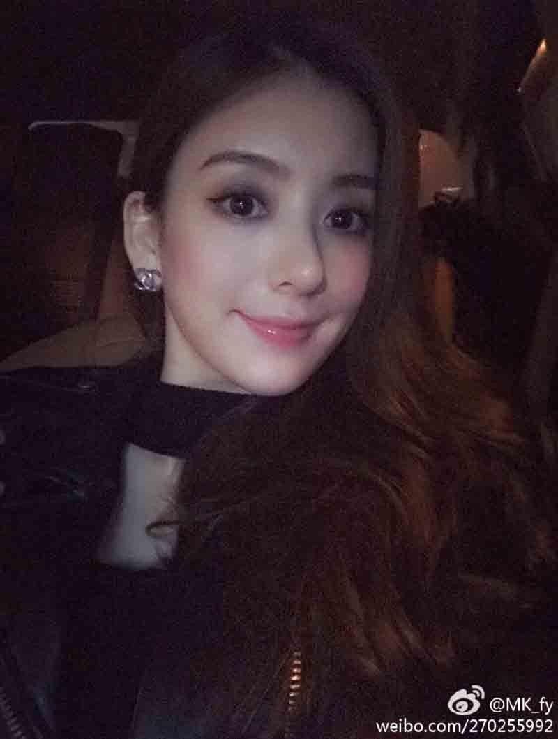 方媛的外表獲天王未婚夫保證「絕對天然」。圖/摘自微博