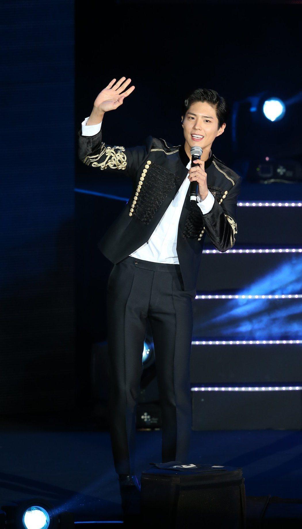 朴寶劍被點名擔任韓版周杰倫。圖/本報資料照