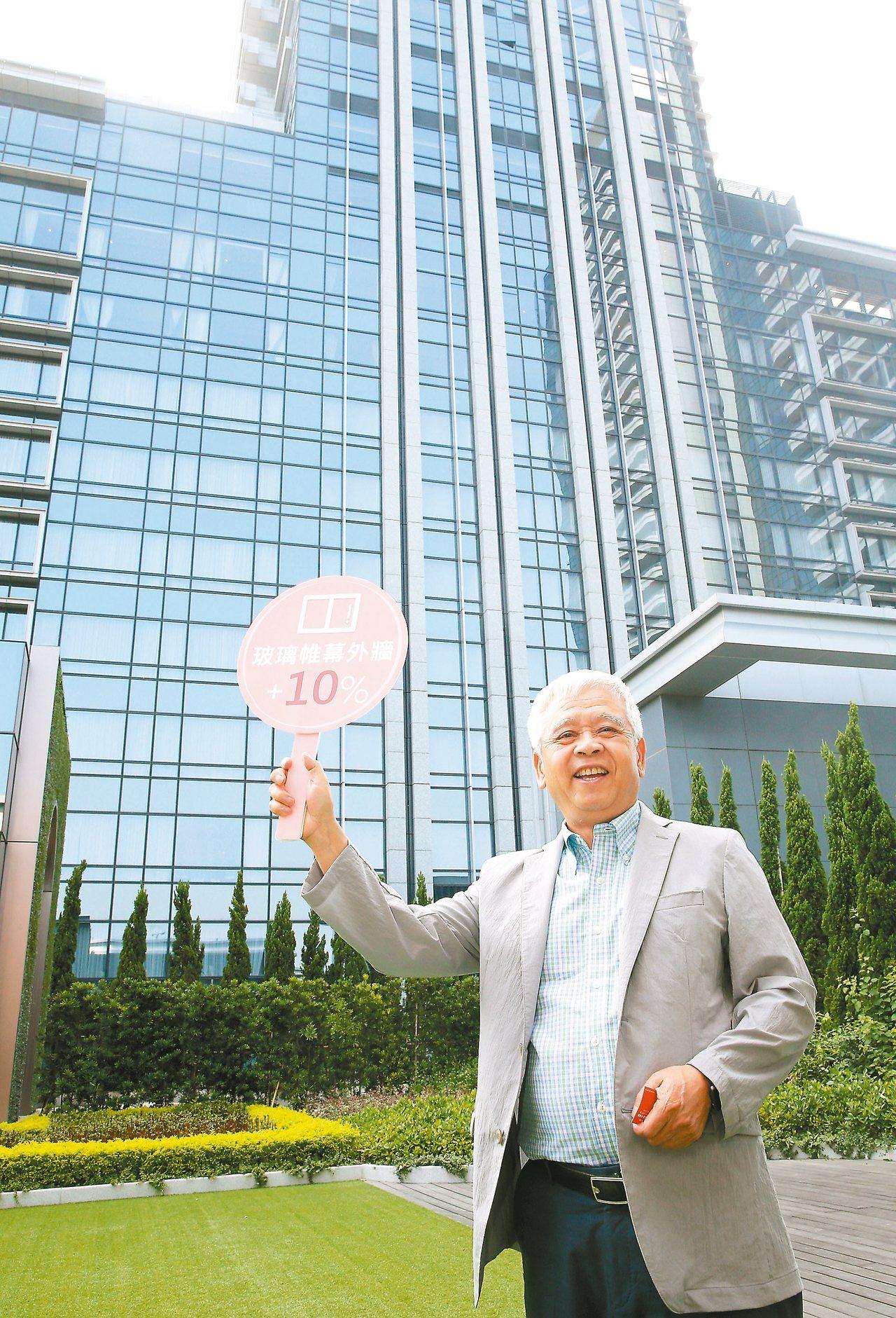 萬豪酒店董事長劉文治。 本報系資料庫