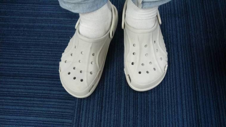 襪子要經常清洗。記者羅真/攝影