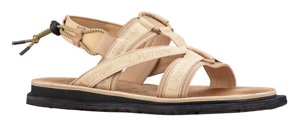 Savanna涼鞋,售價39,000元。圖/LV提供