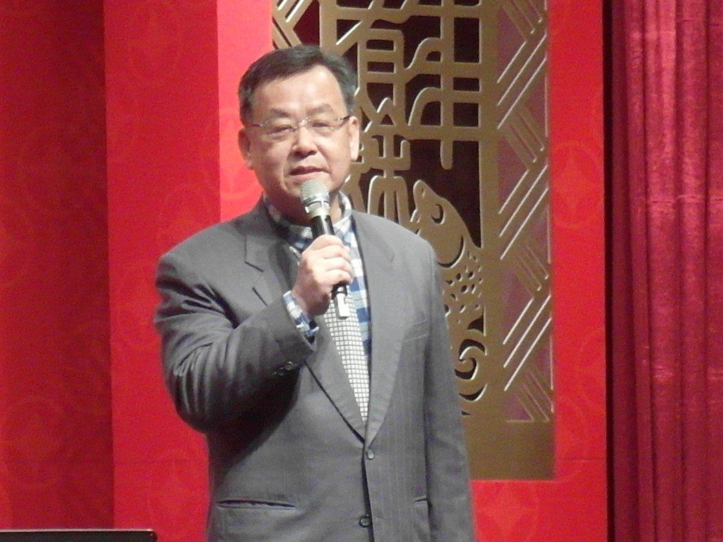 前考選部長賴峰偉。 記者何佩儒/攝影