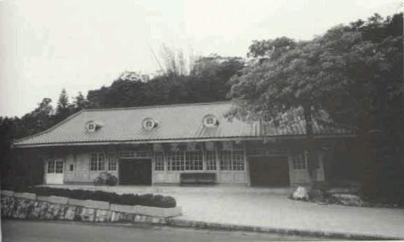 日據時代的新北投火車站。 圖/王章凱提供