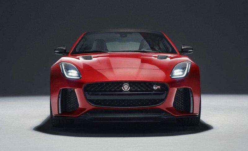 Jaguar F-Type。摘自Jaguar