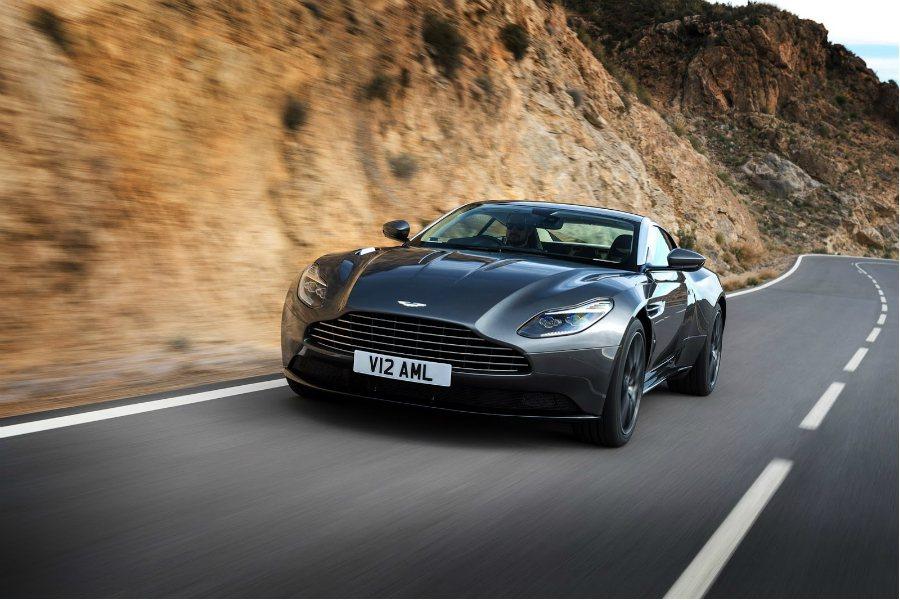 Aston Martin 原廠正式否認 DB11 V8 車型將於上海車展發表的消息! 摘自 Aston Martin