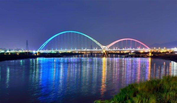 圖片來源/新月橋-新北市觀光旅遊網