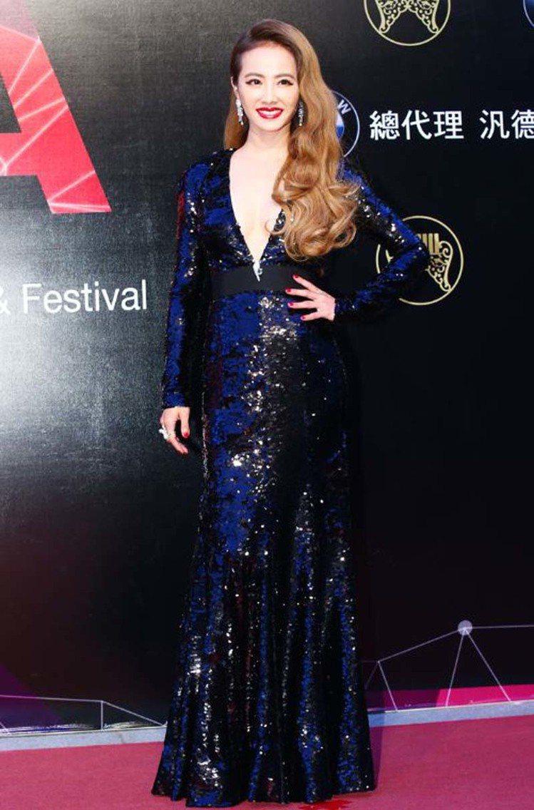 蔡依林於2015年金曲獎性感度所向披靡。圖/聯合新聞網