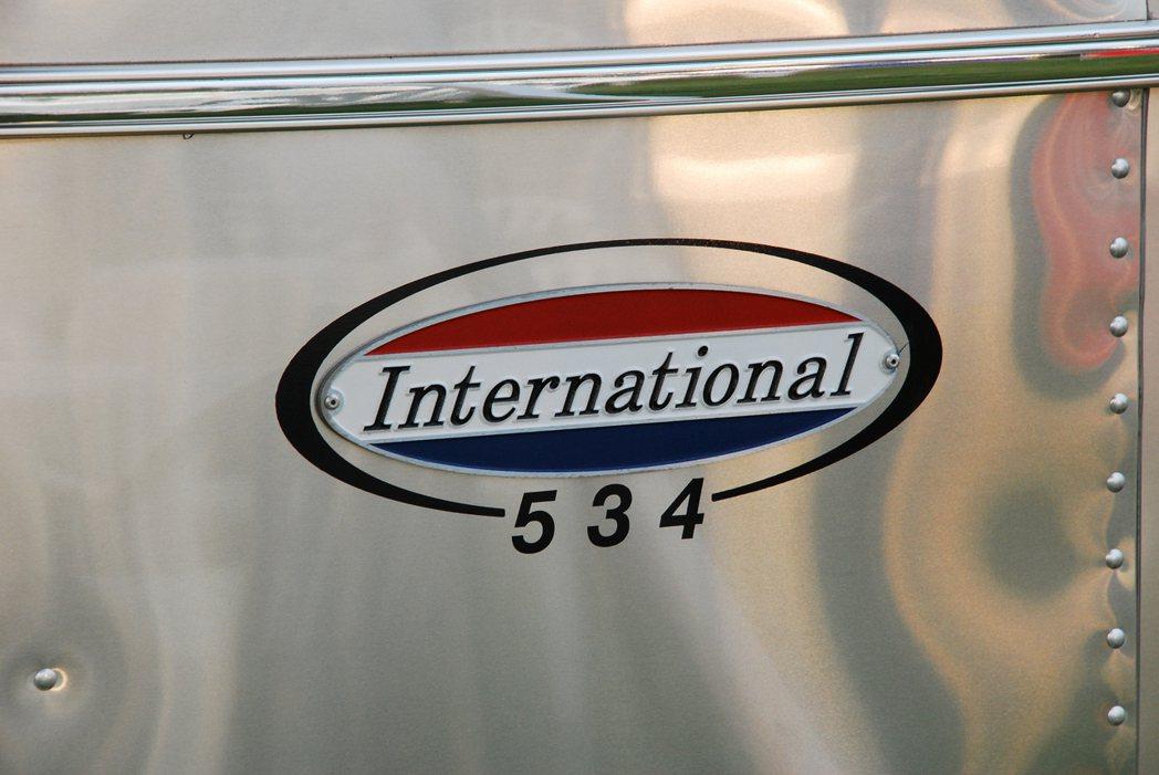international 534銘牌。記者林昱丞/攝影