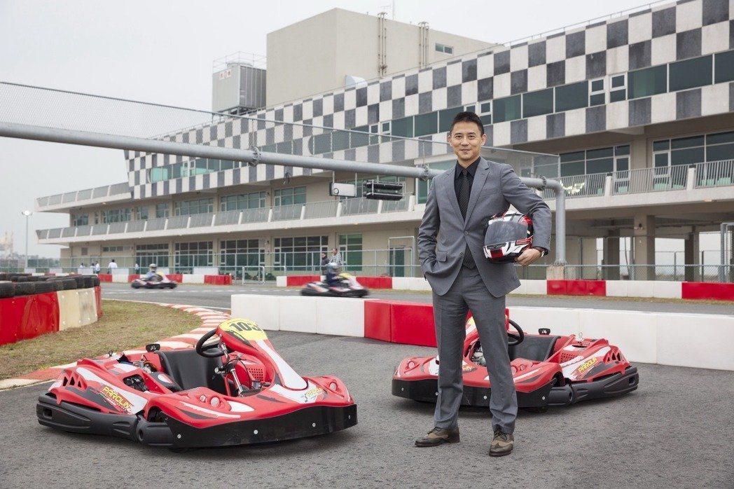 麗寶國際賽車場總經理朱康震表示,將打造「Racing is life」的獨特賽車...