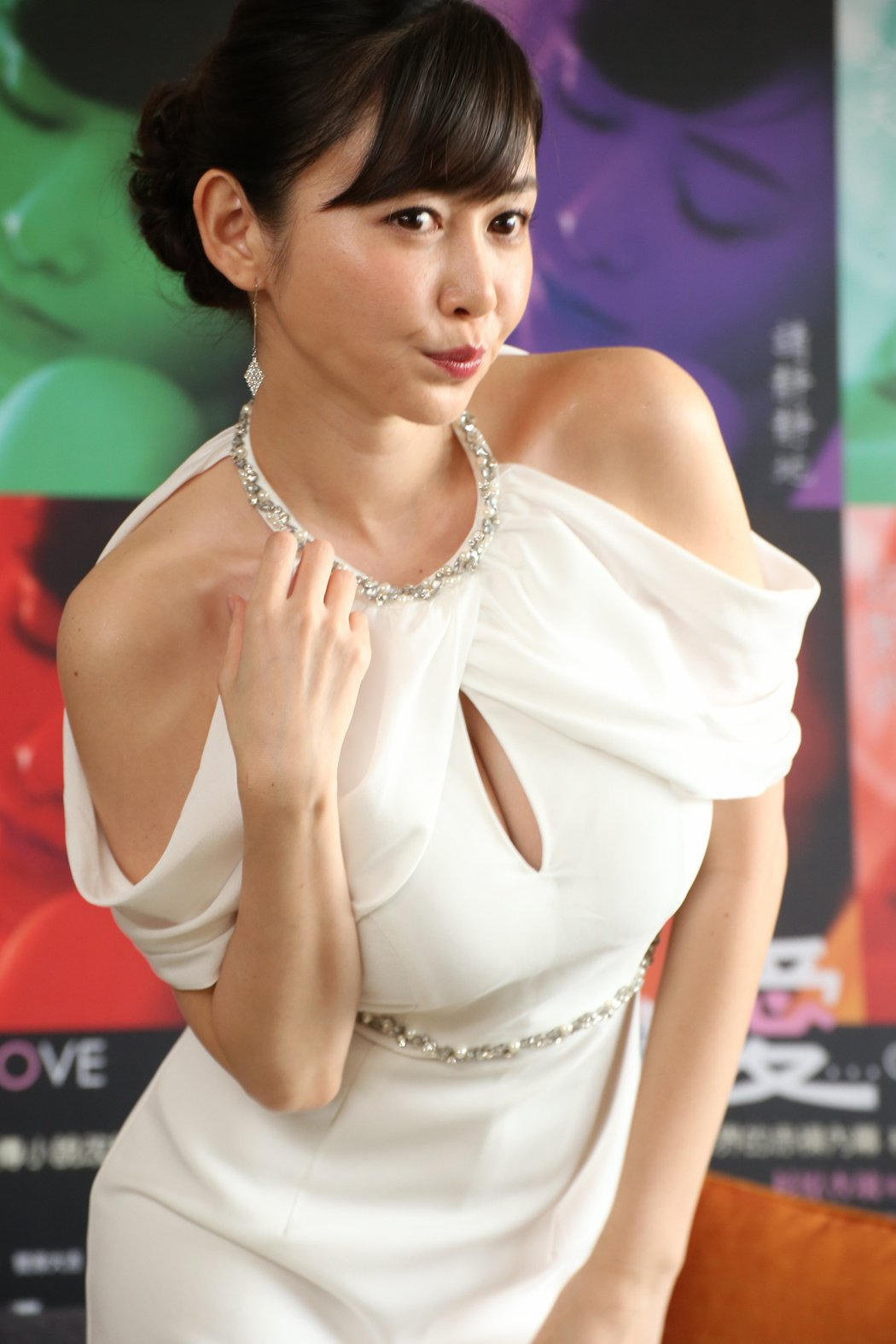 日本寫真女星杉原杏璃。記者陳立凱/攝影