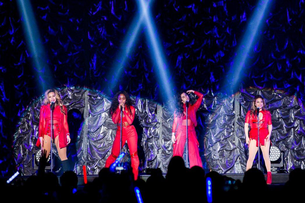 五佳人來台開唱。圖/索尼提供