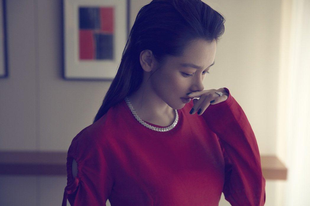 徐若瑄外表甜美,卻有鋼鐵般意志、不放棄的性格。圖/Bella儂儂提供