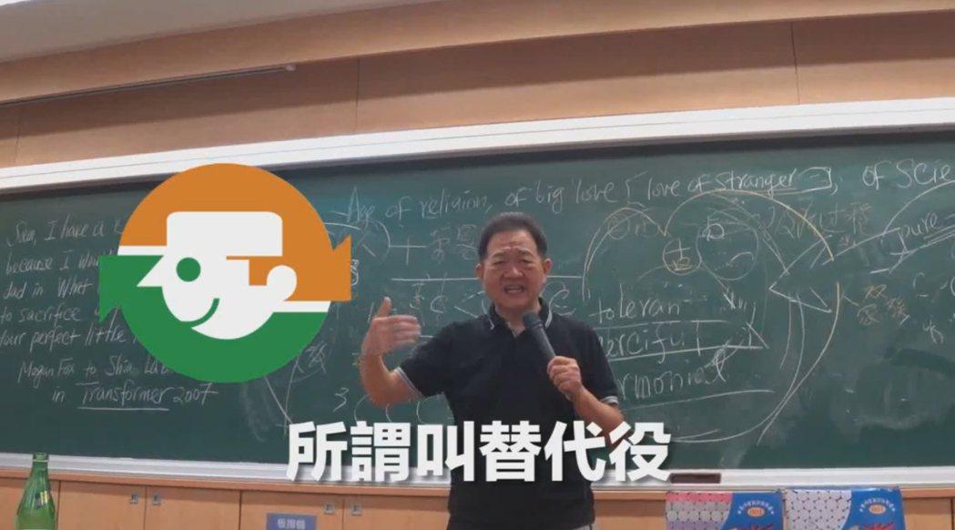 台大教授批「鍋貼役」 李錫錕:不合邏輯