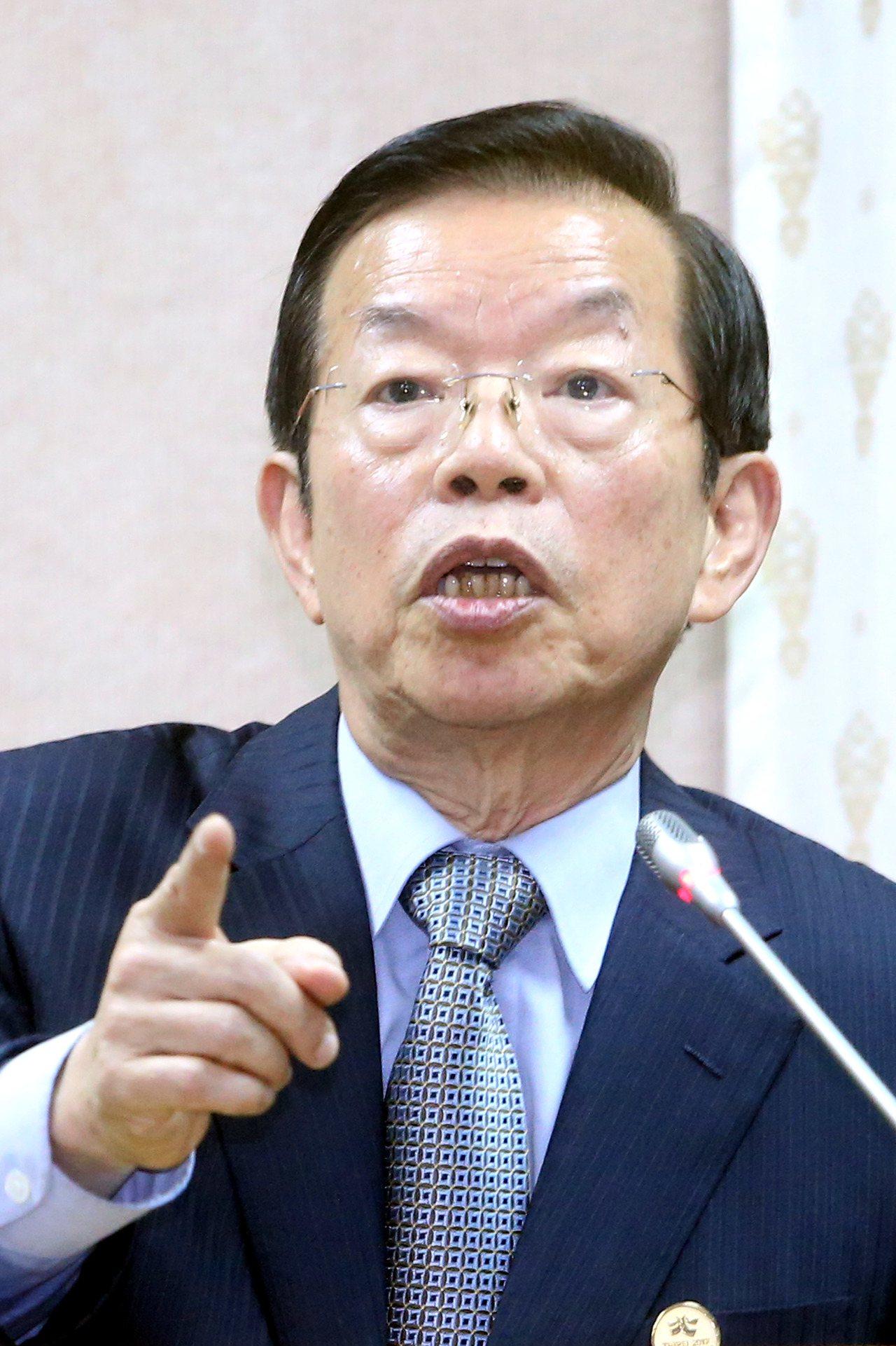 駐日代表謝長廷。記者屠惠剛/攝影