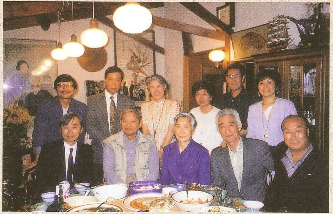戴國煇常邀集各界知識份子舉行「戴家沙龍」,討論時局與歷史。1996年。圖/林彩美...