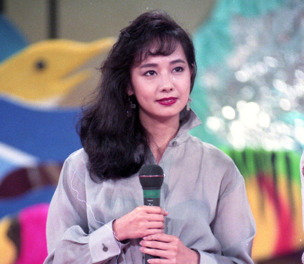 毛舜筠曾來台灣上過華視的「金曲龍虎榜」。 圖/本報資料照