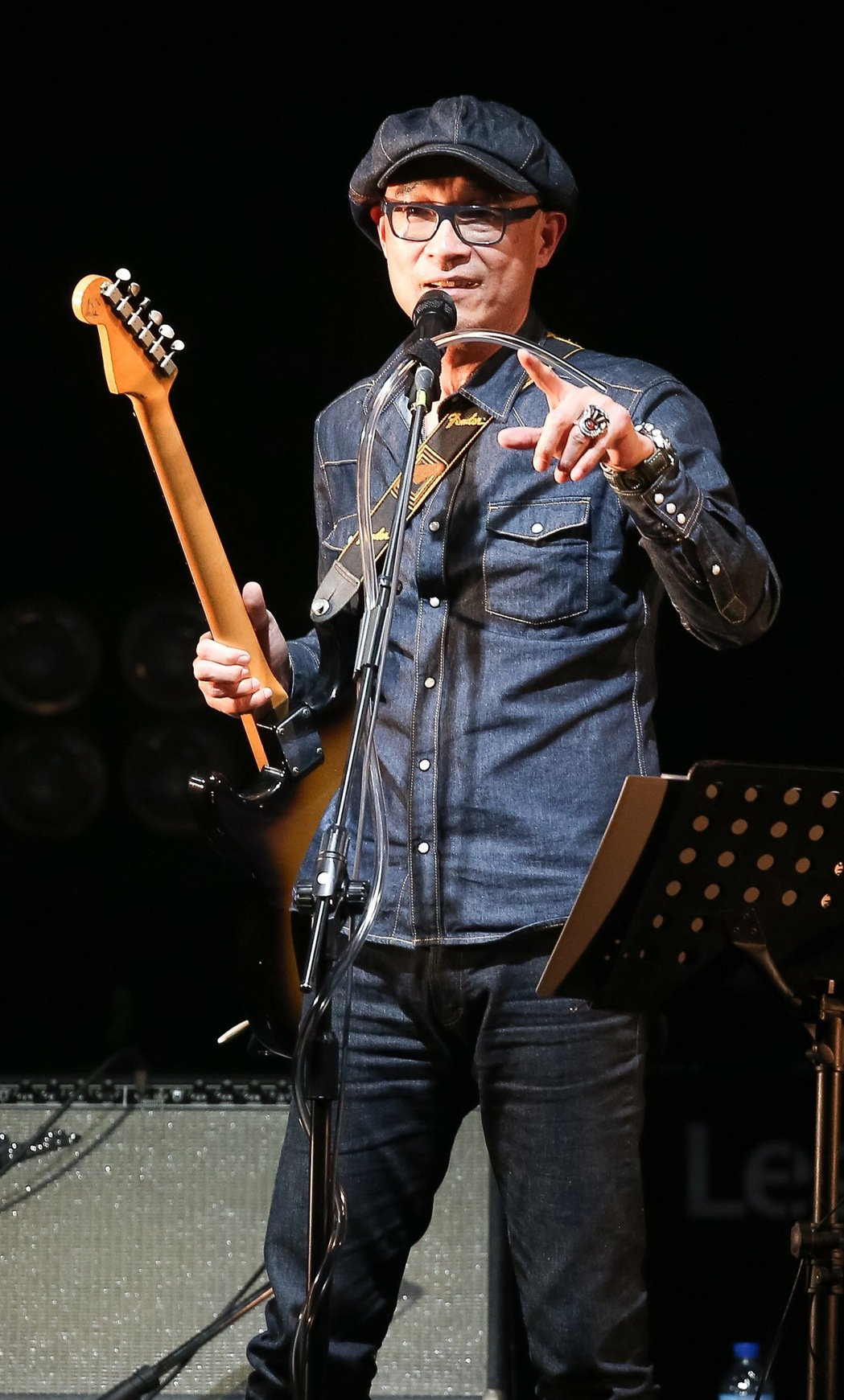 王治平今天在華山Legacy舉辦個人首次售票演唱會。記者余承翰/攝影