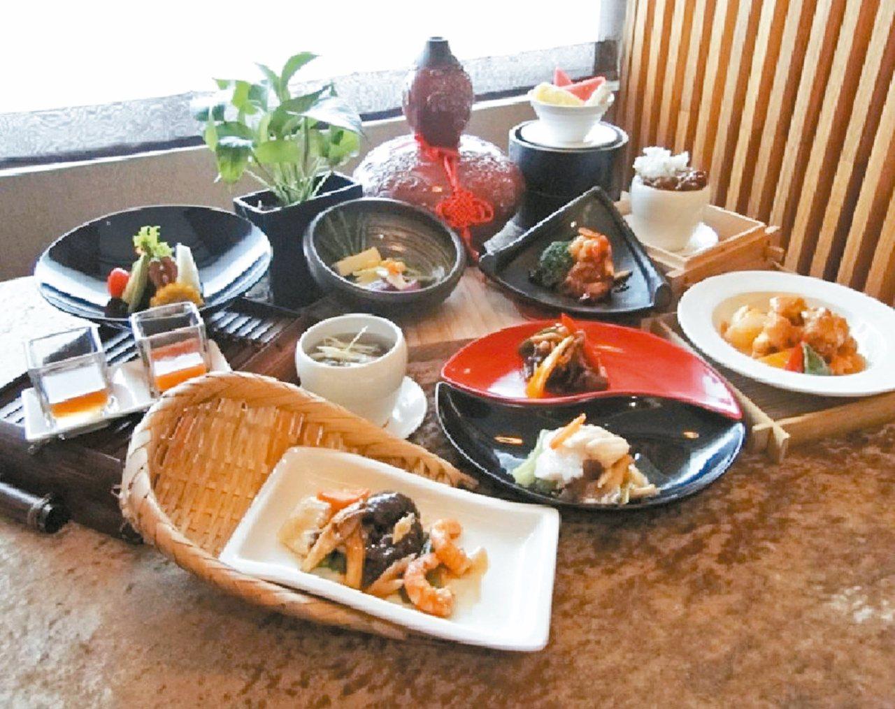 花蓮翰品酒店為穆斯林遊客設計專屬的菜色。 圖/翰品酒店提供