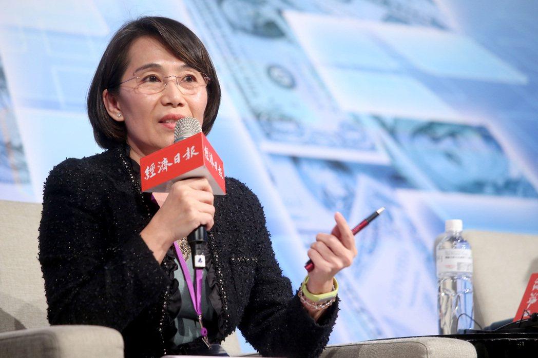 台灣中油公司第一位女性副總畢淑蒨。 圖/報系資料照