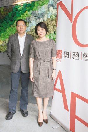 國藝會董事長林曼麗(右)與執行長彭俊亨(左)。 國藝會/提供