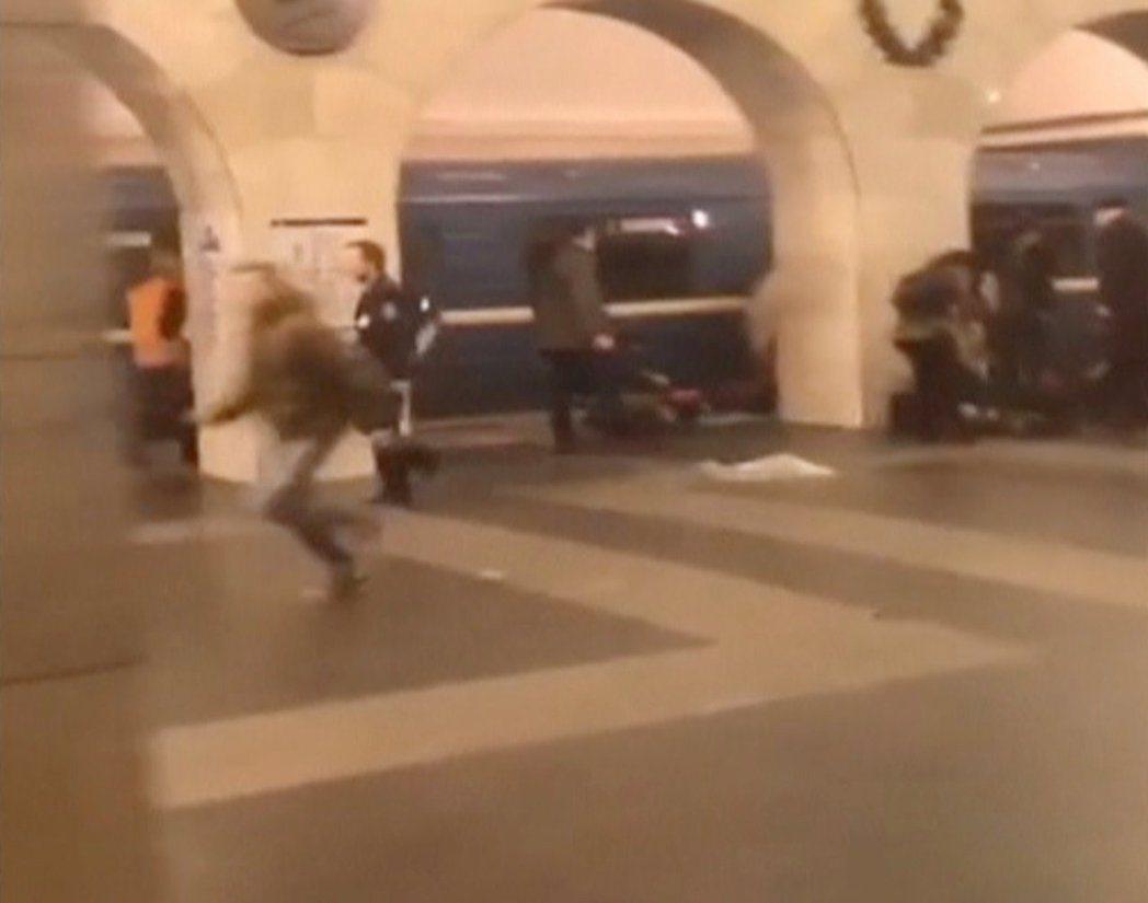 俄羅斯聖彼得堡地鐵發生恐怖攻擊爆炸案。 路透