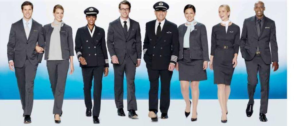 美國航空的新款制服。 圖/摘自美航網站