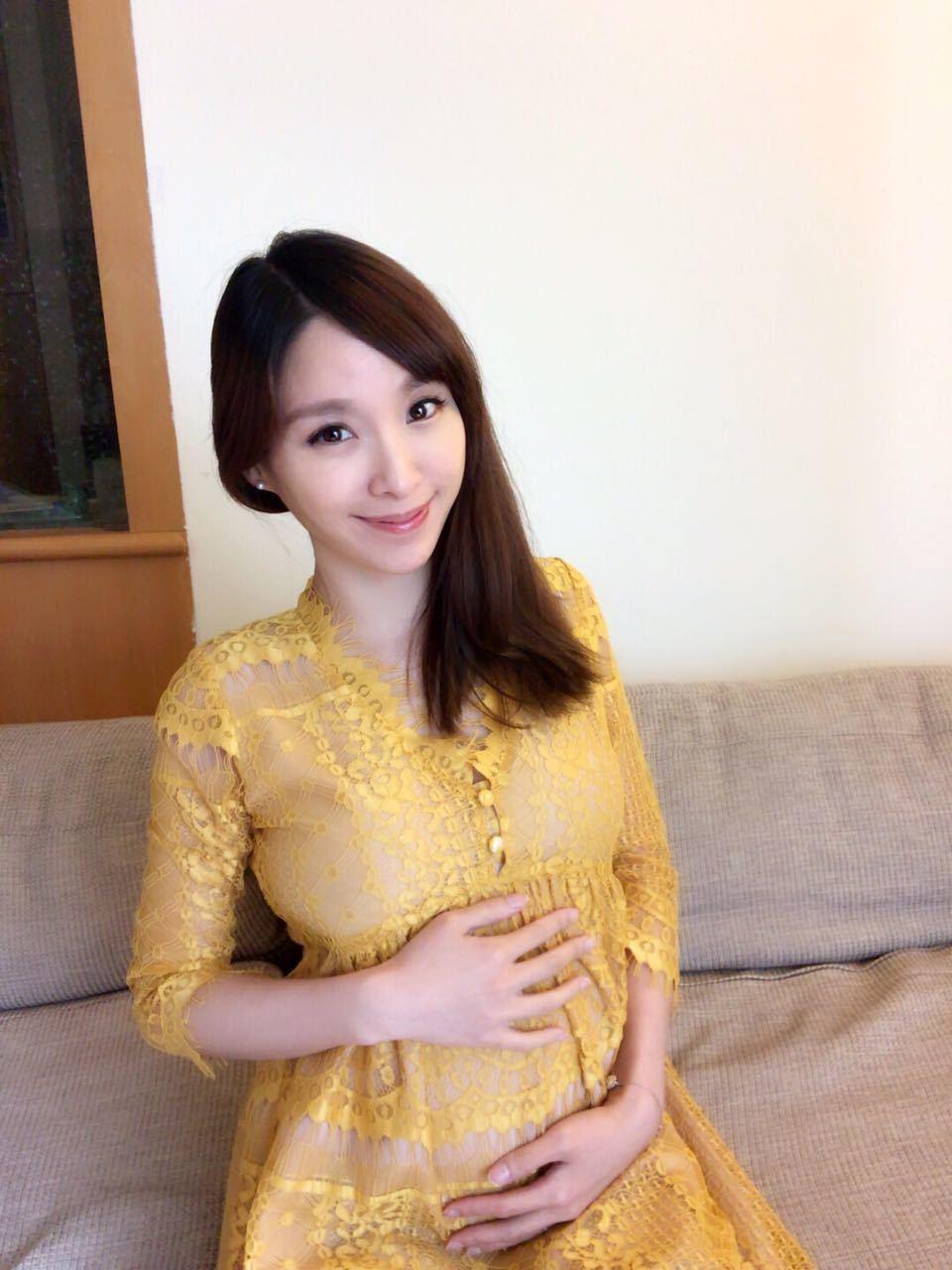 張宇目前已經懷孕滿5個月,肚裡是個男寶寶。圖/張宇提供