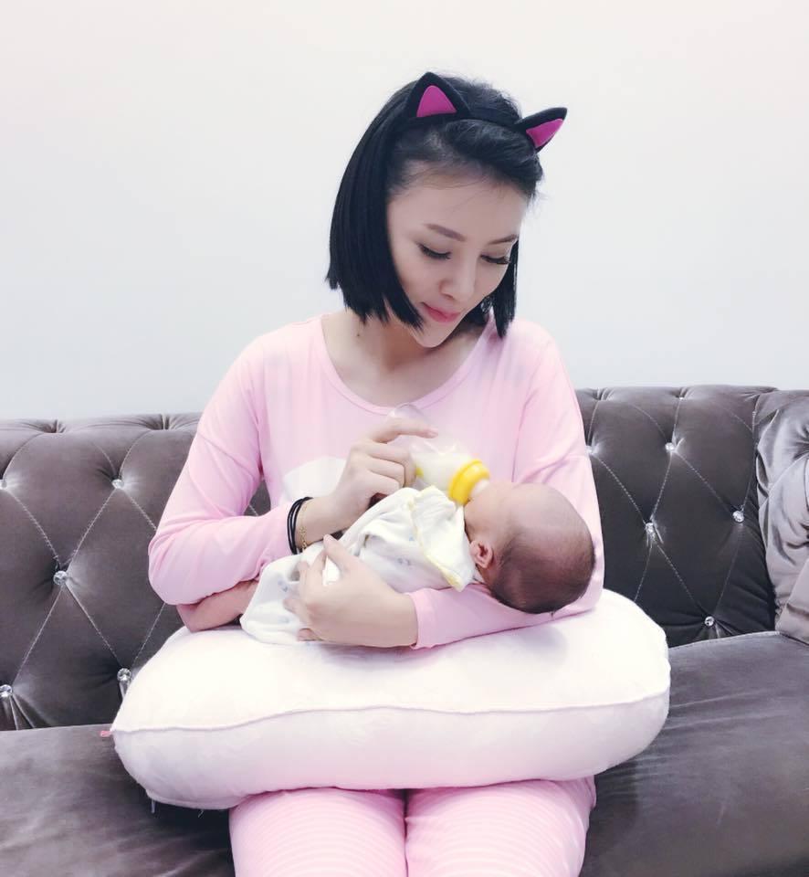 陳子玄產下寶貝兒子。圖/摘自臉書