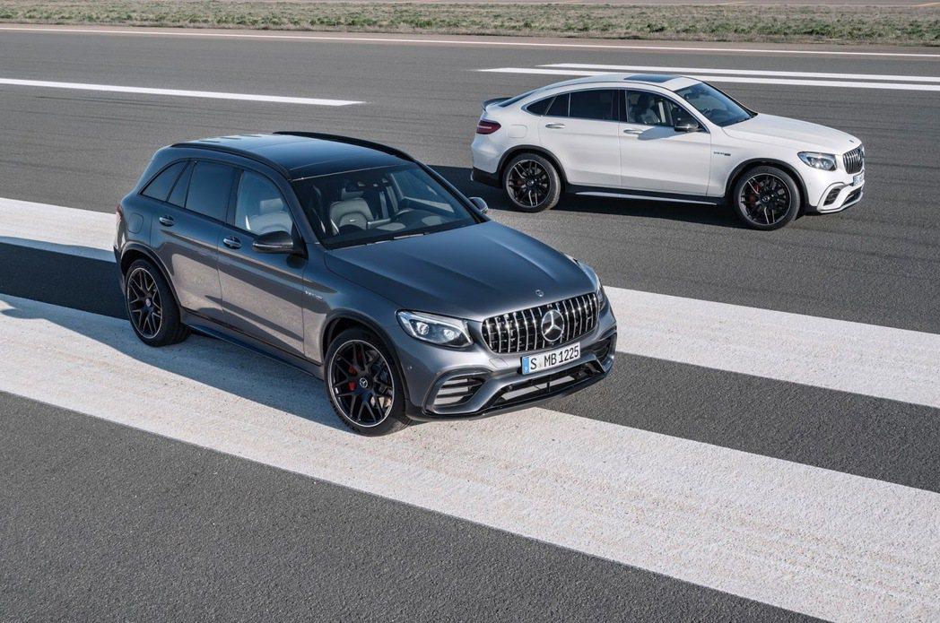 Mercedes-AMG GLC63和GLC Coupé 63要來了。Mercedes提供