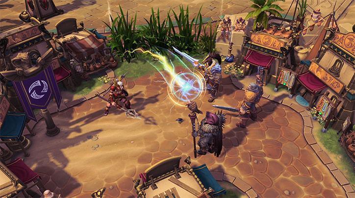 「閃電球」可讓卡西雅朝敵方英雄扔出一顆閃電光球,並在附近敵方英雄與卡西雅之間彈跳...