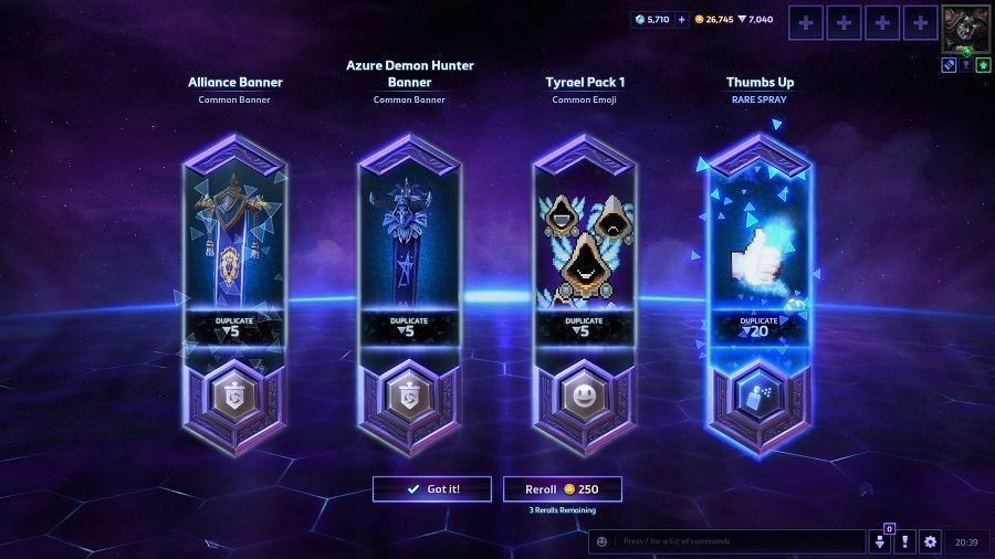 全新戰利品可使玩家獲得不同個性物品。