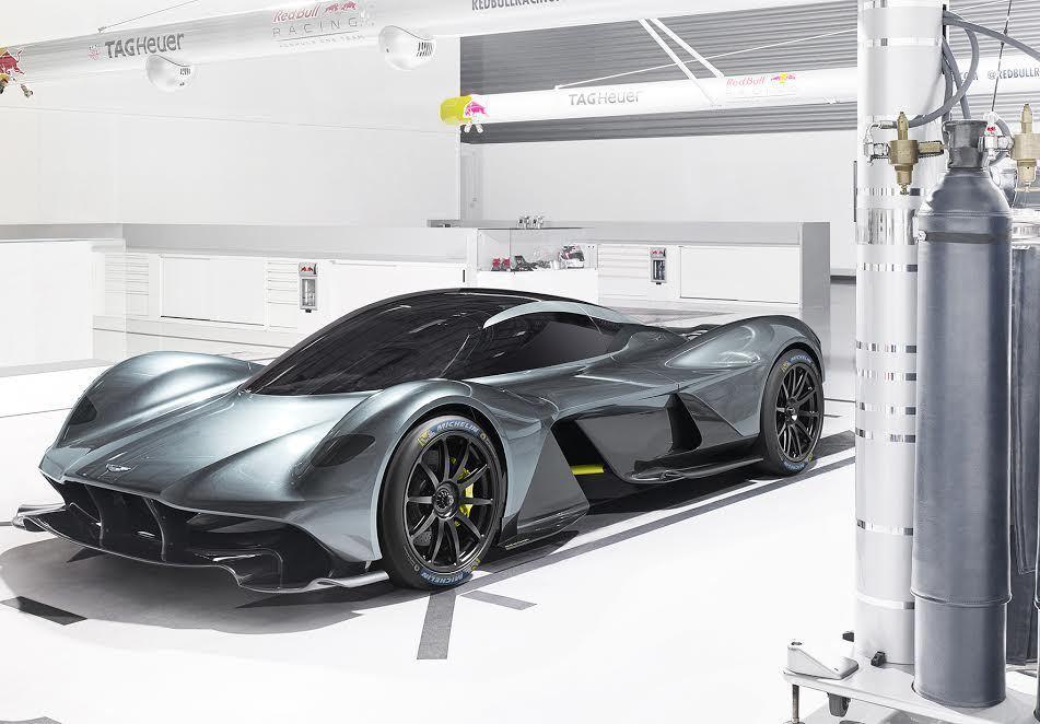 Aston MartinHypercar新作Valkyrie,採用MICHELI...