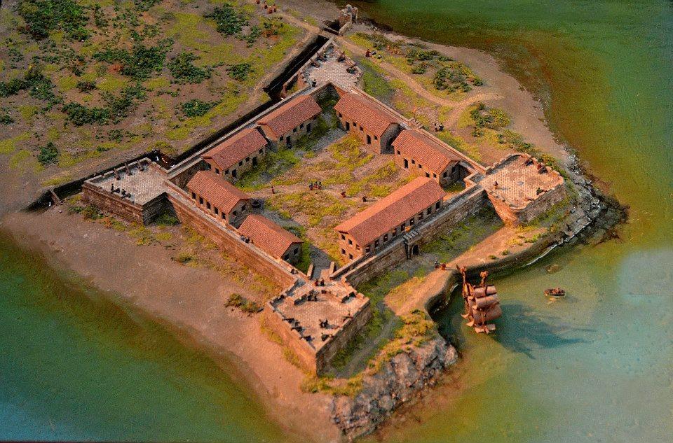 聖救主城模型。圖/取自wikipedia