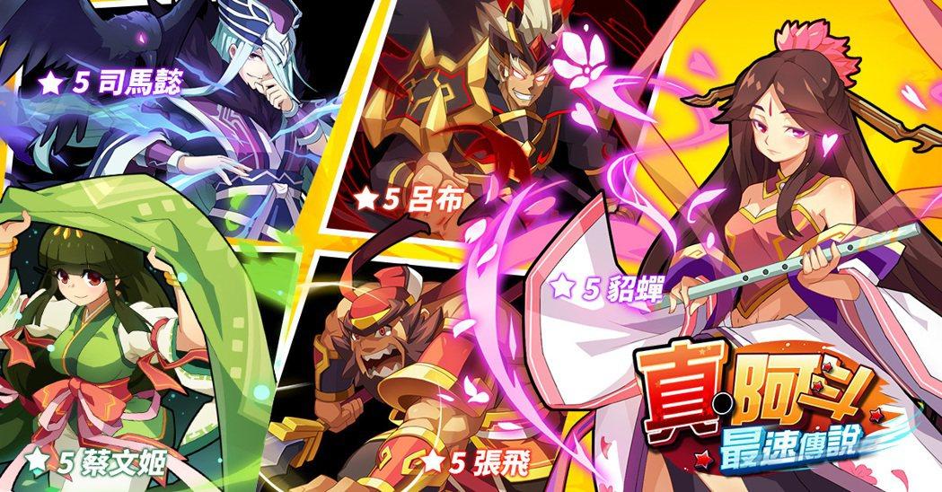 育駿科技取得《真・阿斗最速傳說》代理權。