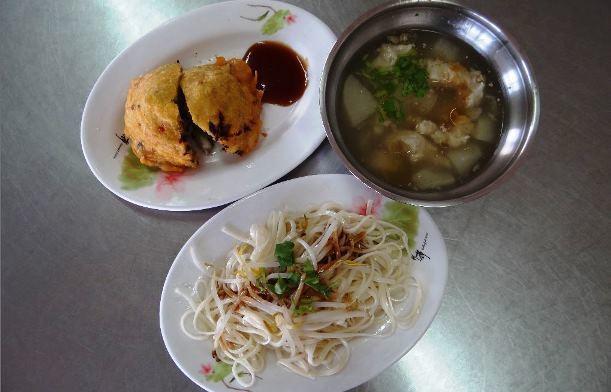豆菜麵配肉羹湯/聯合報系資料照