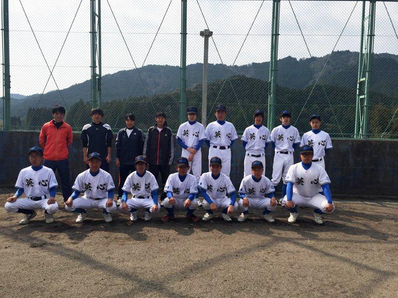 創部於2015年的英心高校野球部,雖然年輕,如今也已從創部時的5人慢慢增加到現在的規模。  圖/豐田毅提供