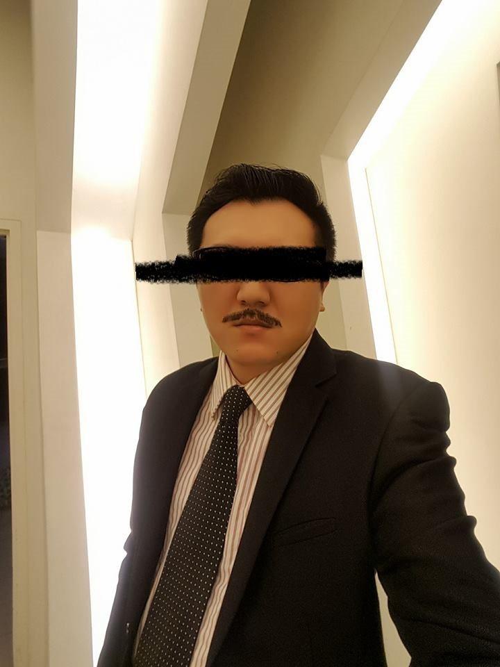 劉姓男演員近期參演「甘味人生」。圖/摘自臉書